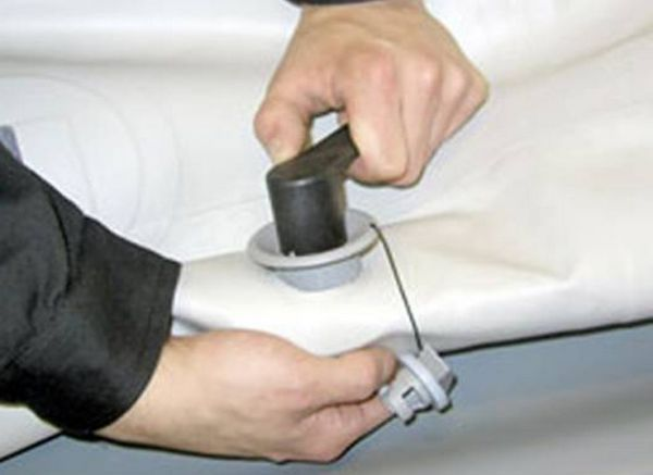 Ремонт клапанов резиновых лодок своими руками 747
