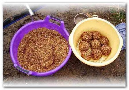 прикормка для рыбы из кукурузной крупы
