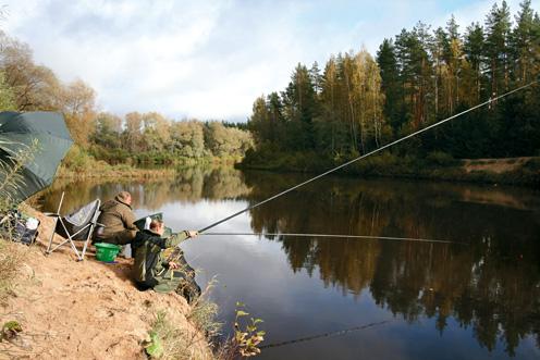 Снасти для ловли на реке