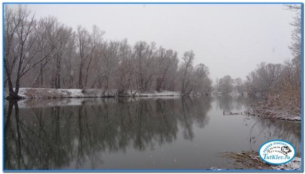 И опять рыбалка на реке Оскол.